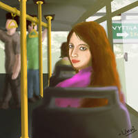 Girl from Vytila by unnibabu