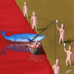 Blue Whale by unnibabu