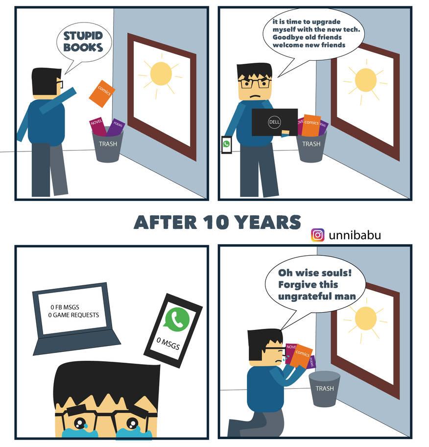 10 year challenge by unnibabu