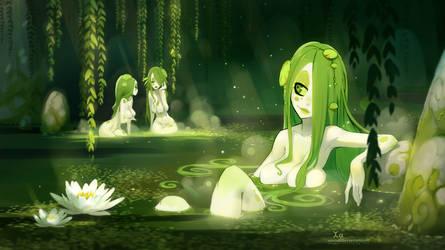 Swamp Girls by xa-xa-xa
