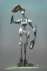 Baseball Bot by xa-xa-xa