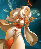 Eniripsa Goddess by xa-xa-xa