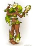 Sadida for the game 'Wakfu' by xa-xa-xa