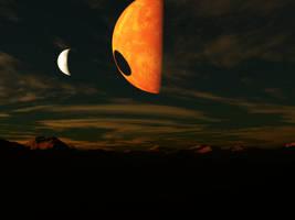 Solar Eclipse by GxMew