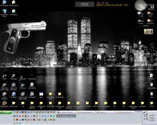 My Current Desktop by Hawk2064