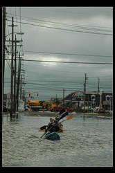 Urban Kayakers by Hawk2064