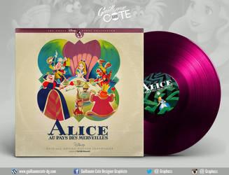 Disney Vinyl - Alice au pays des Merveilles by Graphuss