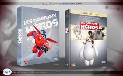 Les Nouveaux Heros - Coffret Blu-Ray Disney by Graphuss