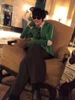 Sitting in a Chair by Kkmkingdom