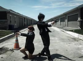 Kogami and Akane by Kkmkingdom