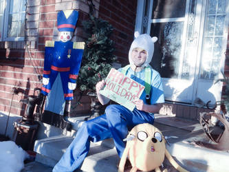 Happy Holidays - Adventure Time by Kkmkingdom