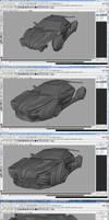 Concept Car WorkFlow Part 2 by agwesh