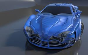 Storm GTR Concept Car Front by agwesh