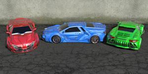 Storm GTR Concept Car Scene 1 by agwesh