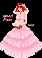 Commission: Bridal Pyra by hanamina3