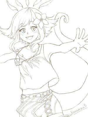 Neeko from League of Legends WIP by hanamina3