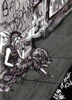 Gutter Punks 2 by Skullkid