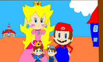 Mario's Family Photo by NyanSonia