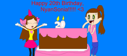 Today It's My 20th Birthday! by NyanSonia