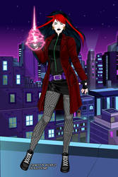 juleka the witch by Shadowofjustice123