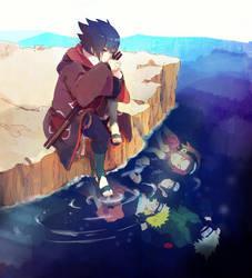 Sasuke Uchiha by LovleyGraphic