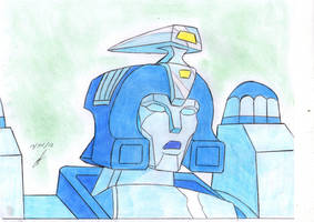Blurr talking  transformers G1 by ailgara