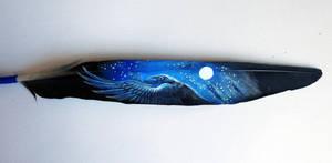 Feather painting 1 by Reza-malinova