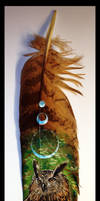 Feather painting 2 by Reza-malinova