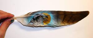 Feather painting 3 by Reza-malinova