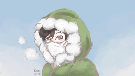 Warm Coat by kamisamii-moved