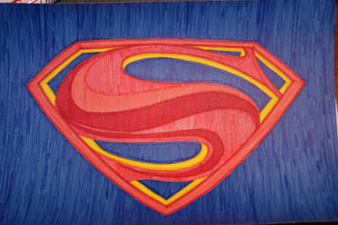 Superman logo by AJOSKO