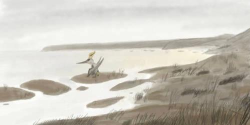 Pteranodon sternbergi by casielles