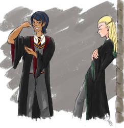 Hogwarts AU Fun Again! by Arwydd