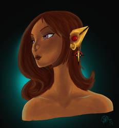 Eilor portrait by Arwydd