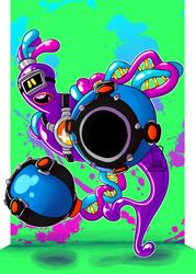 COMM: Purple Helix by MrKenen