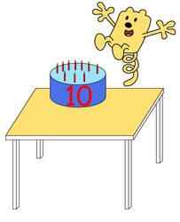 Wubbzy's 10th birthday by dev-catscratch