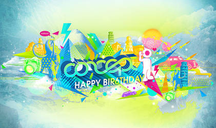 Happy Bir6thday Concept by rethname