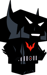 Batman (Beyond) 3D by zienaxd