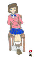 Anzu takes a seat by JohnnyPitstain