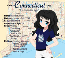 Connecticut Reference Sheet by WaitingForCoffee