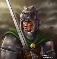 Sandor Clegane - The Hound by Dr-Salvador