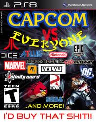 capcom versus EVERYONE by yoshi-the-kool