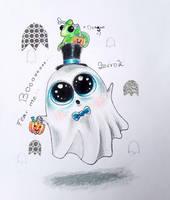 Scary Ghost by ZerroZ