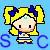 Sailor Celestial Pixel Icon by FlyingTanuki