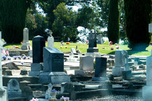 LBS - STOCK - CEMETERY - 007 by LazyBonesStudios