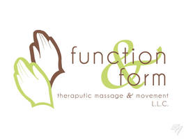 Function and Form Therapeutic Massage logo by EricAndersonCreative