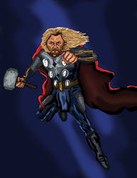 Thor (Sketch_Dailies) by EricAndersonCreative