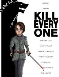 Arya Stark (Sketch_Dailies) by EricAndersonCreative