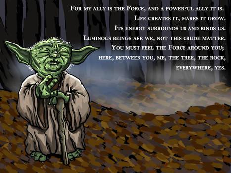 Yoda (Sketch_Dailies) by EricAndersonCreative