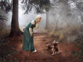 A moment of tenderness by WatanskaTatianaStock